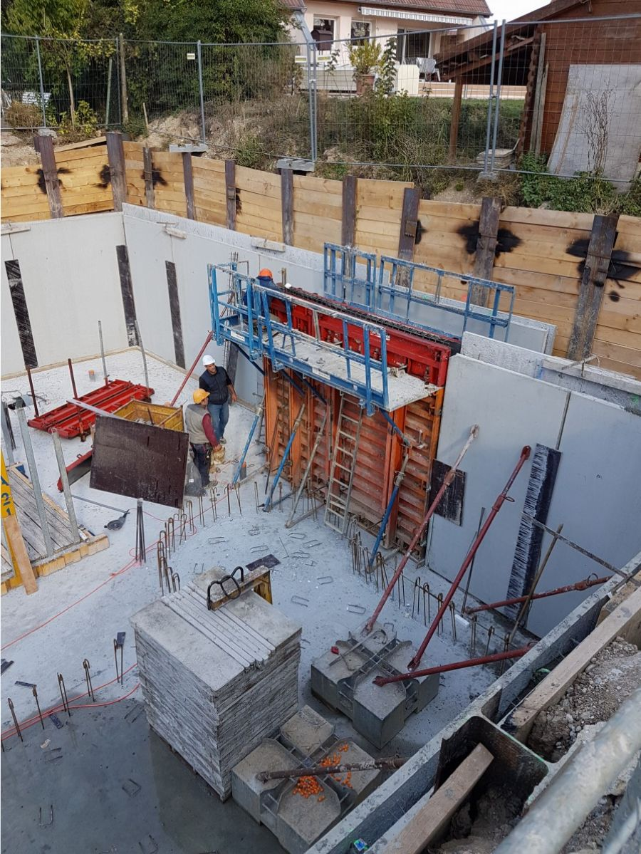 Construction et extension d'un hôtel alsace