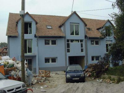Construction d'un immeuble alsace
