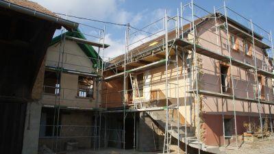 Restructuration d'une maison alsace