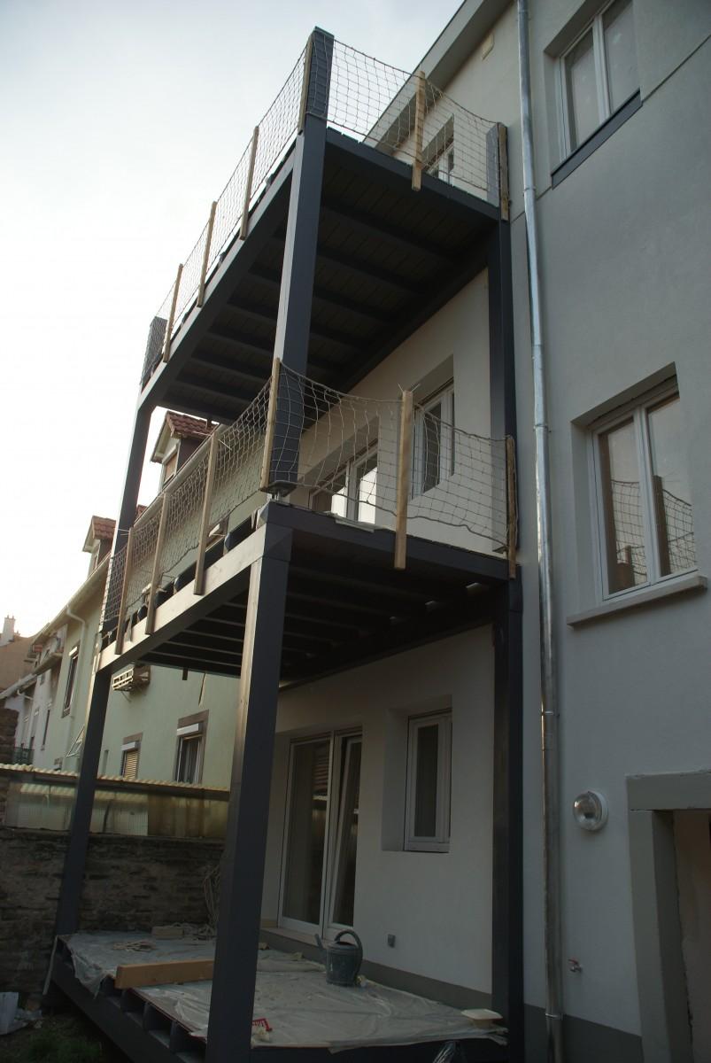Rénovation d'un immeuble alsace