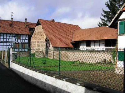 Rénovation d'un corps de ferme alsace