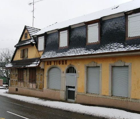 Restructuration d'un ancien restaurant alsace