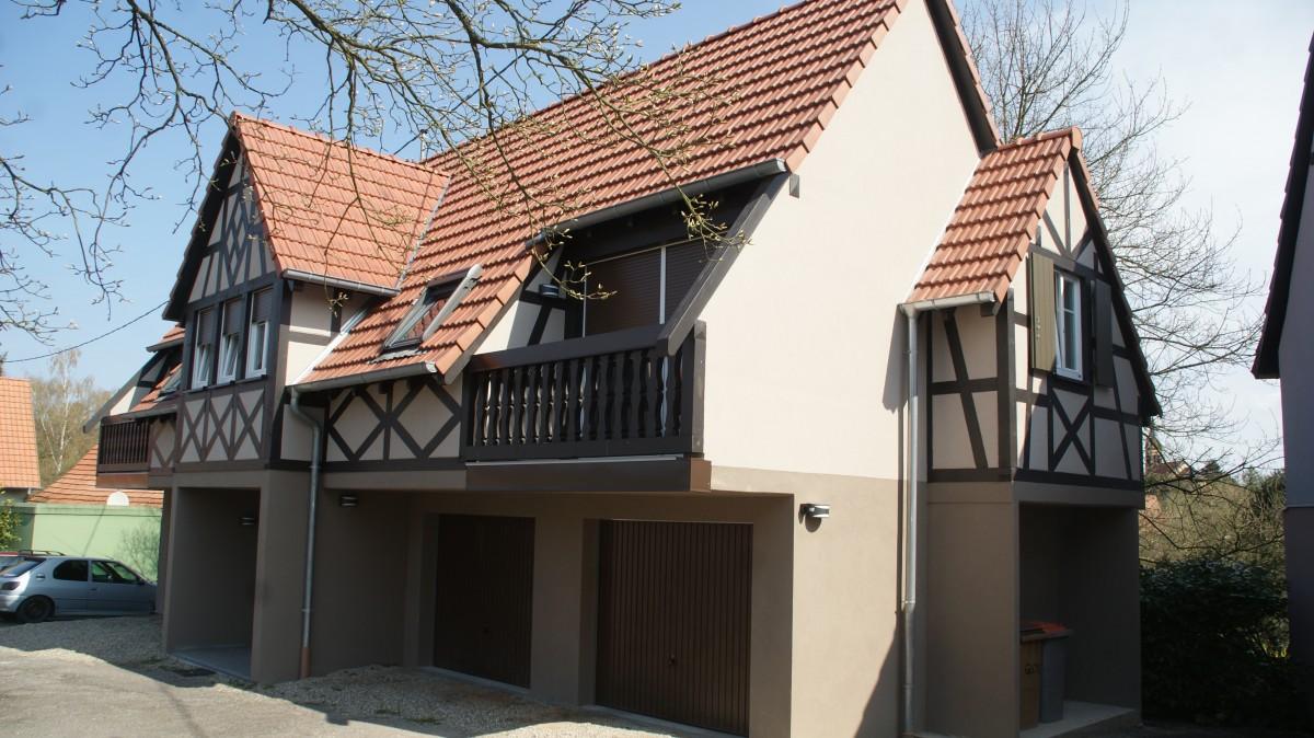 Construction d'une maison alsace