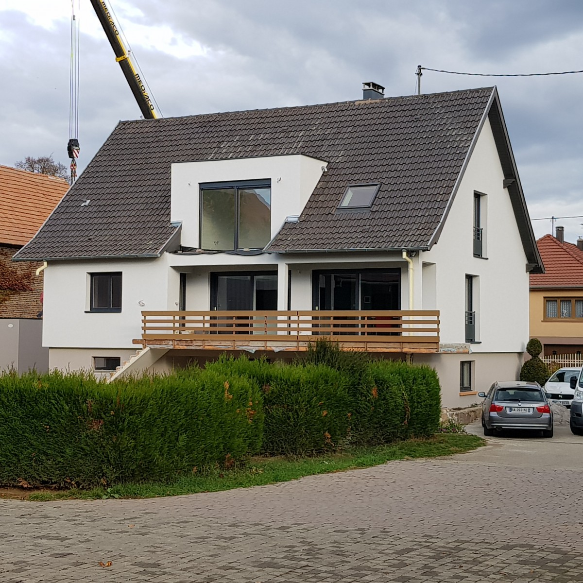 Rénovation d'une maison alsace