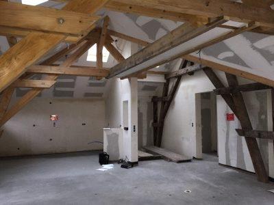 Rénovation d'une grange alsace