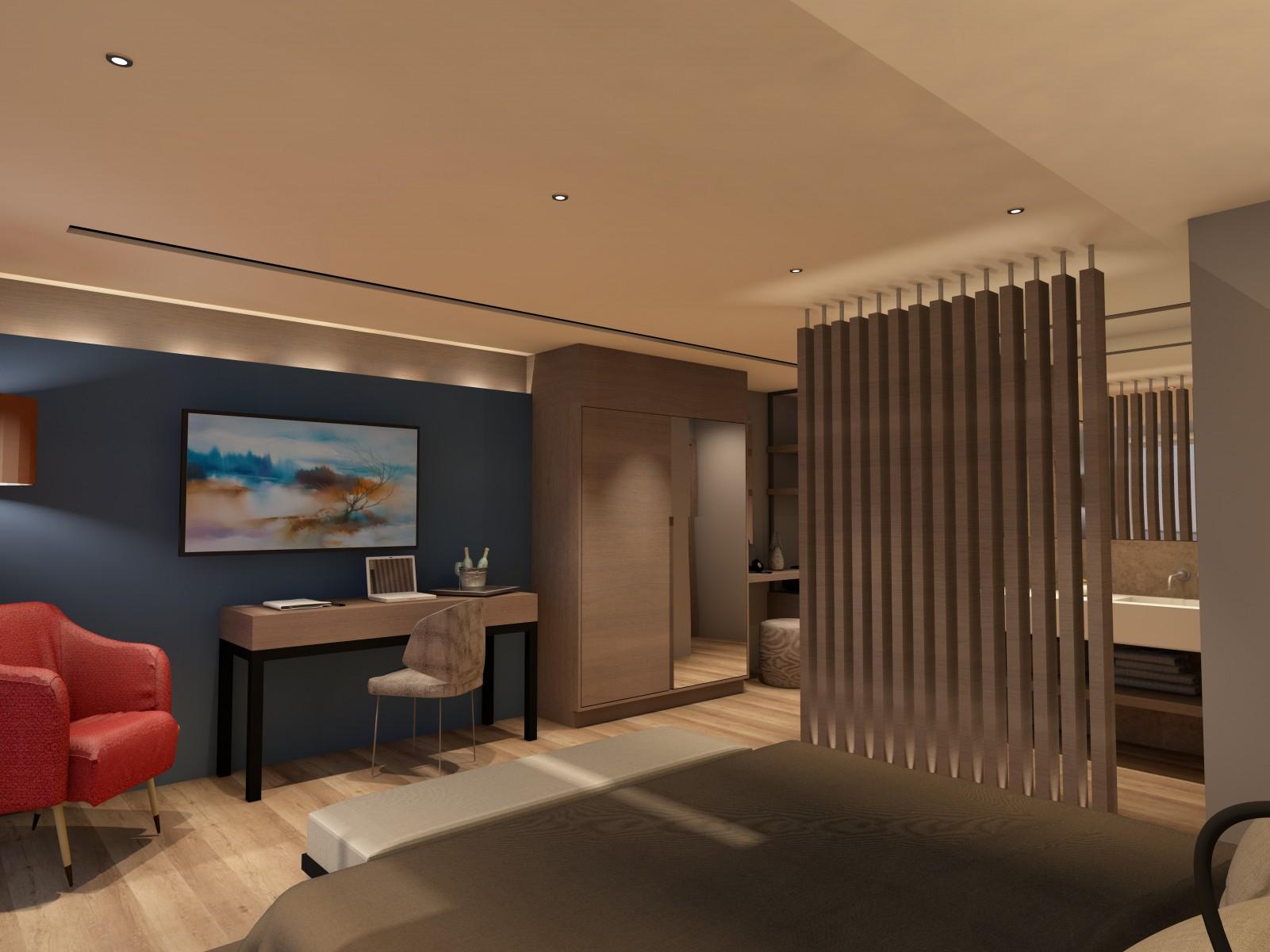 Rénovation d'un hôtel alsace