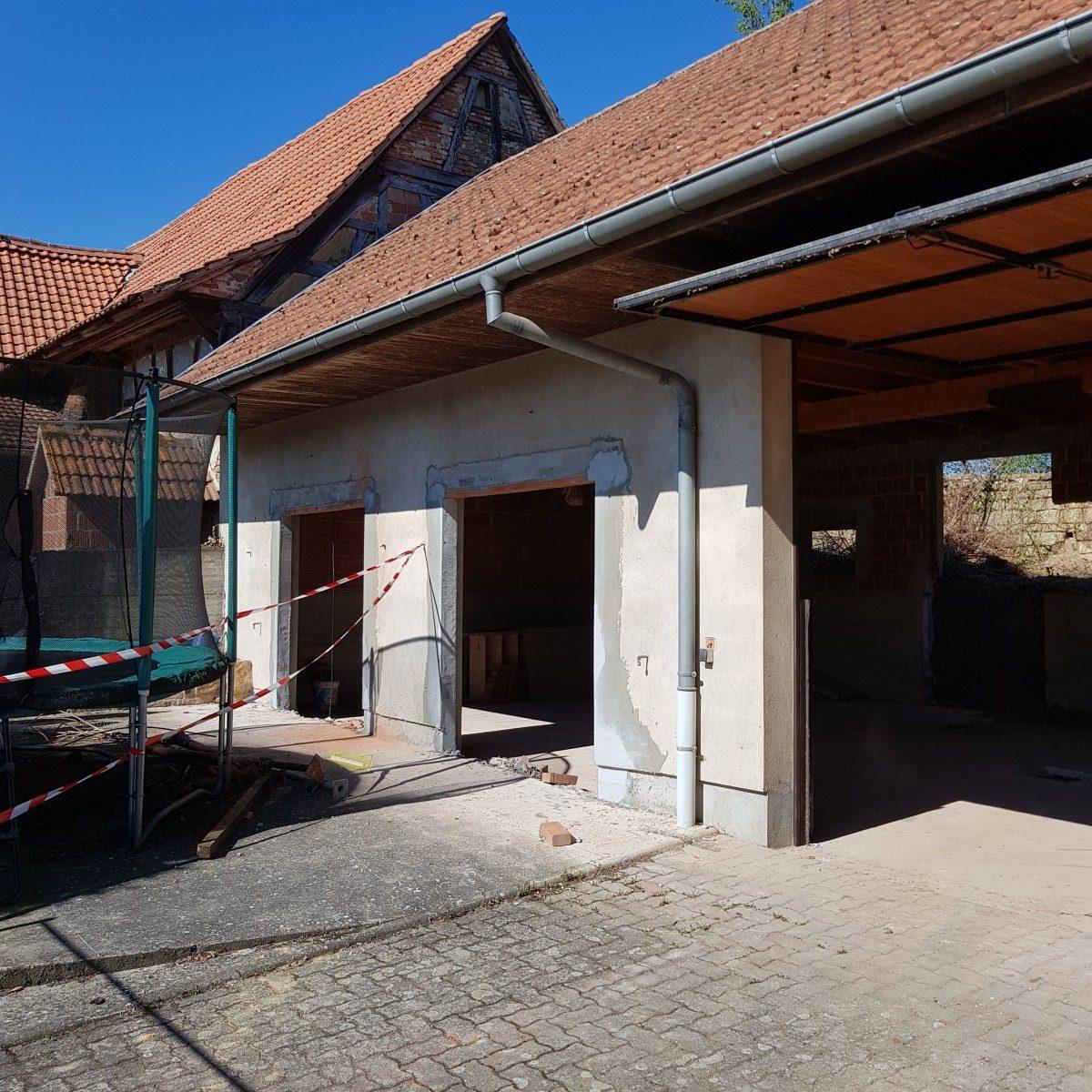 Rénovation d'une dépendance Haut-Rhin