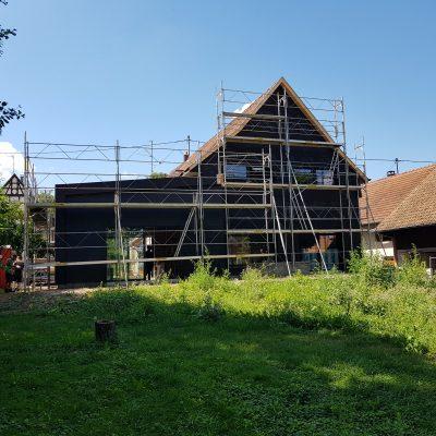 Rénovation d'une maison alsacienne haut-rhin