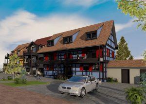 Rénovation d'une maison alsacienne bas-rhin