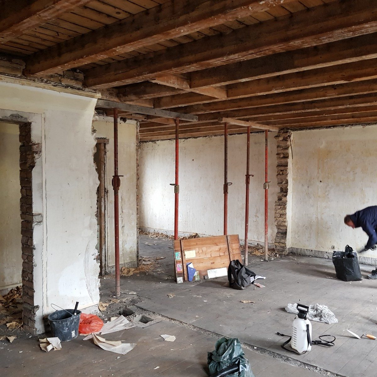 Rénovation d'un appartement alsace