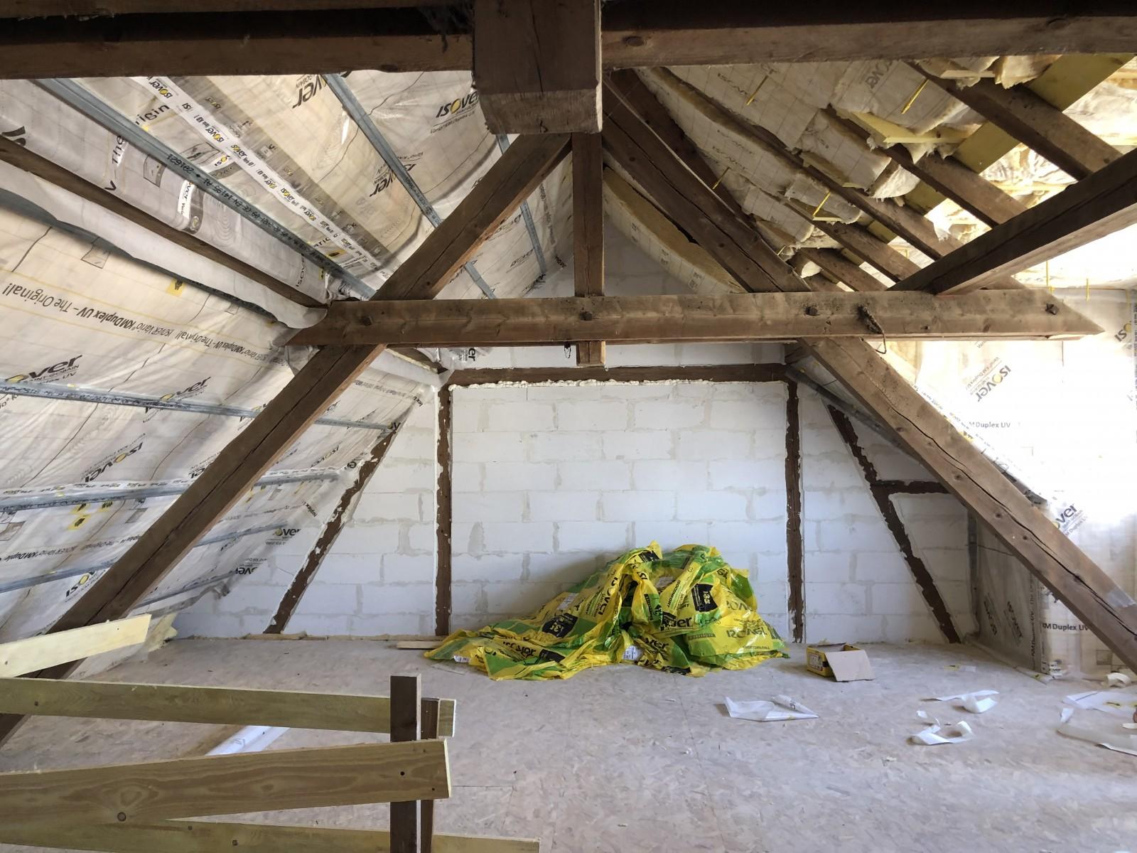 Rénovation d'une grange haut-rhin