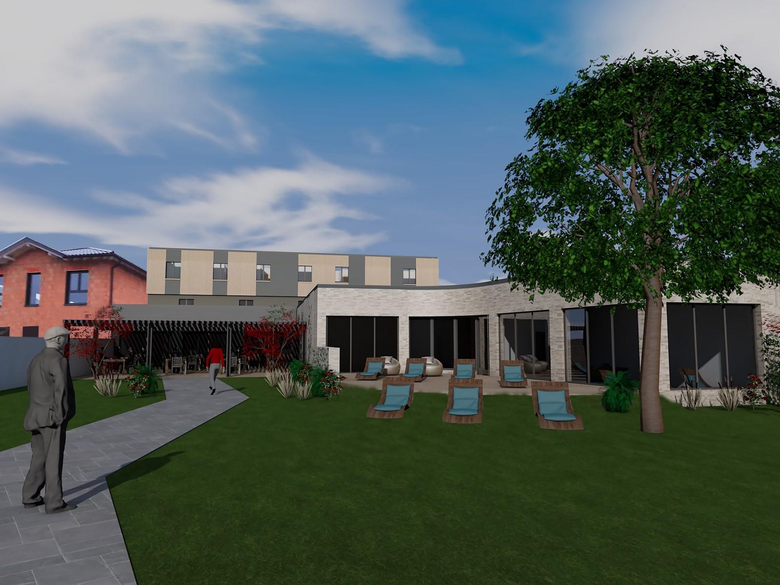 Rénovation d'un hôtel haut-rhin