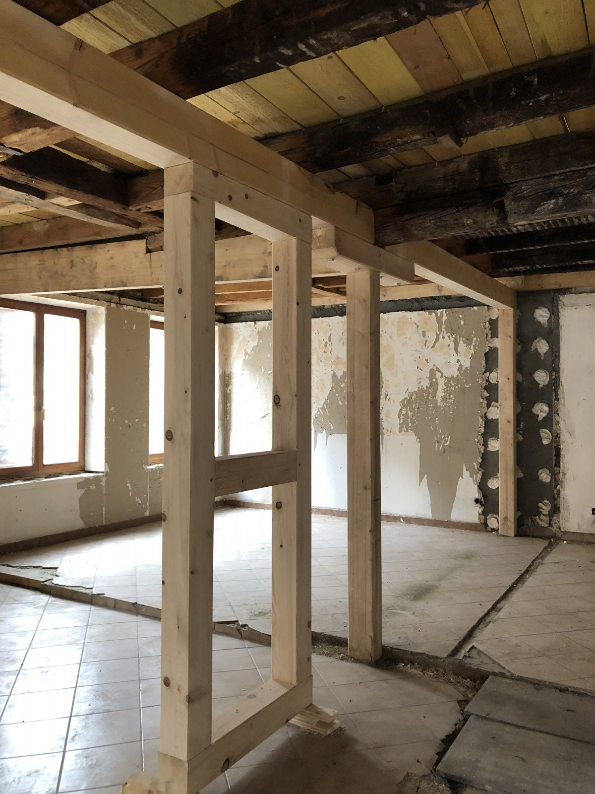 Rénovation d'un immeuble haut-rhin