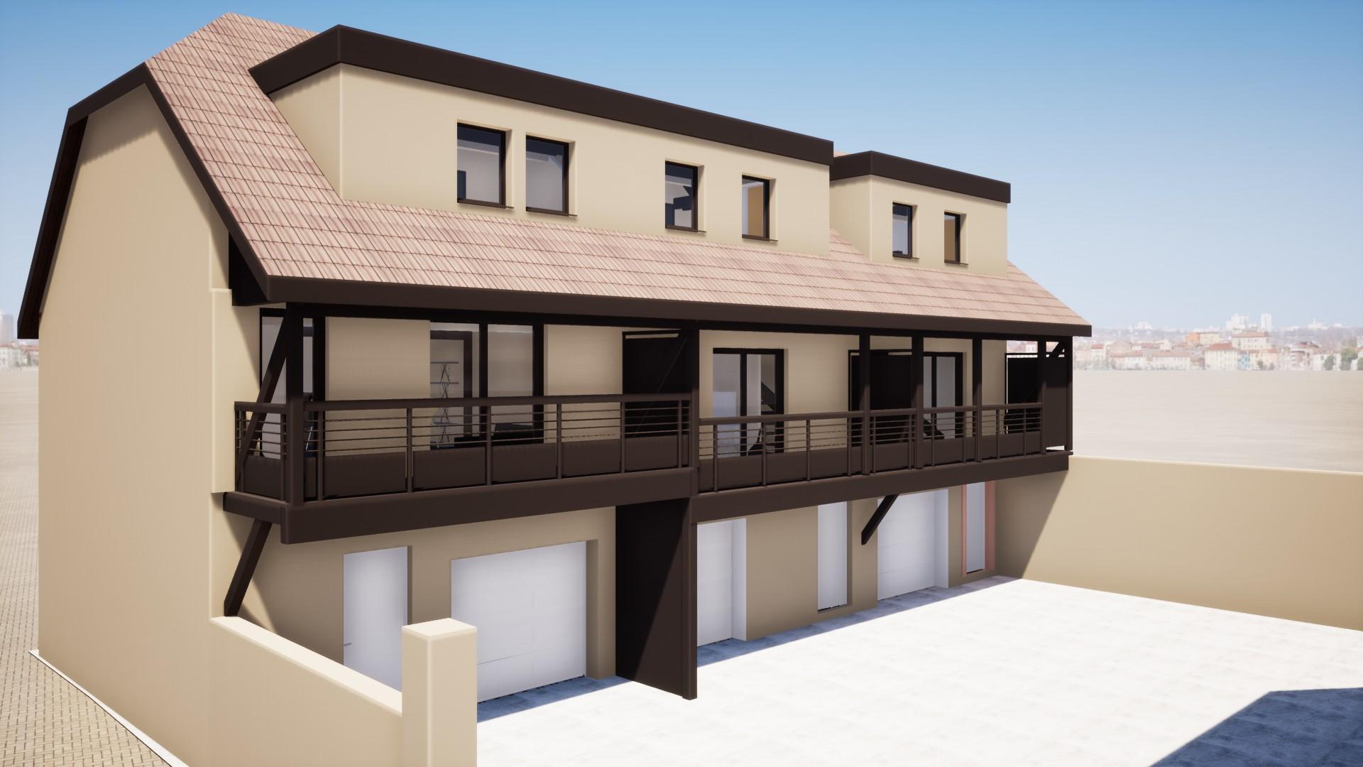 Rénovation d'une maison et d'une dépendance haut-rhin
