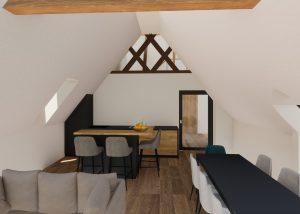 Rénovation d'une maison et restructuration d'une grange alsace